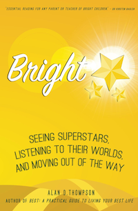 Bright: Seeing superstars, listening to their worlds, and moving out of the way